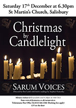 Christmas by Candlelight Poster